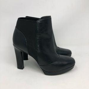 Via Spiga Black leather Shoes Size 6M Boots